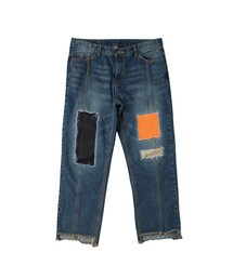 RMTC「Patchwork Cutting Pants_Blue(Others)」