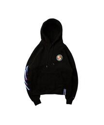 RMTC(ロマンティッククラウン)の「Ceremony Tape Wide hoodie_BLACK(その他)」