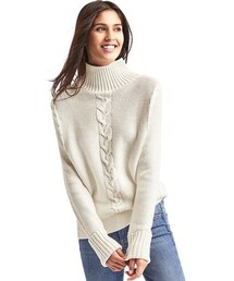 GAP「Plait cable knit mockneck sweater(Knitwear)」