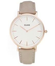 CLUSE(クルース)の「Women's Cluse La Boheme Leather Strap Watch, 38Mm(腕時計)」