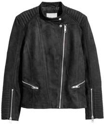H&M「H&M - Biker Jacket - Black - Ladies(Outerwear)」