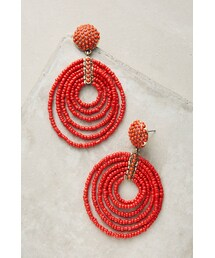 BaubleBar「Baublebar Pinata Beaded Hoop Earrings(Earring(both ears))」