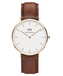Daniel Wellington(ダニエルウェリントン)の「Daniel Wellington Classic St Mawes Rose Watch Tan(腕時計)」