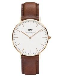 Daniel Wellington「Daniel Wellington Classic St Mawes Rose Watch Tan(Watch)」