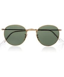 Ray-Ban「Ray-Ban - Round-frame Gold-tone Sunglasses - one size(Sunglasses)」