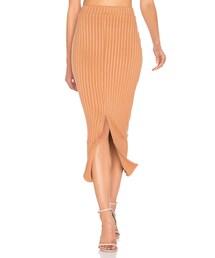 no brand「Lavish Alice Flounce Hem Midi Skirt(Skirt)」