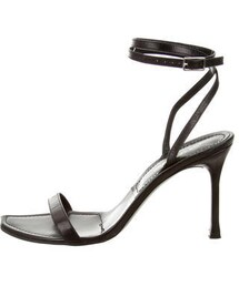 Sergio rossi「Sergio Rossi Leather Ankle Strap Sandals(Sandals)」
