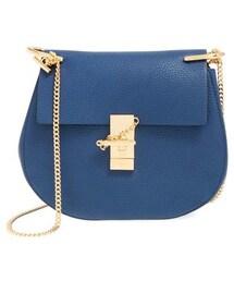 Chloe「Chloe Small Drew Leather Shoulder Bag - Black(Shoulderbag)」
