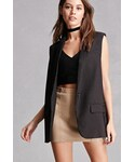 Forever 21「FOREVER 21+ Blush Noir Blazer Vest(Tailored jacket)」