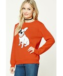 Forever 21「FOREVER 21+ Contemporary Bulldog Sweater(Knitwear)」