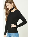 Forever 21「FOREVER 21+ Crew Neck Sweater(Knitwear)」