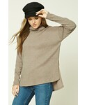 Forever 21「FOREVER 21+ Brushed Knit Turtleneck Sweater(Knitwear)」