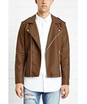 Forever 21「FOREVER 21+ Faux Leather Moto Jacket(Riders jacket)」
