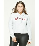Forever 21「FOREVER 21+ Plus Size NY to LA Hoodie(Sweatshirt)」