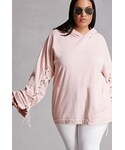 Forever 21「FOREVER 21+ Private Academy Plus Size Hoodie(Sweatshirt)」