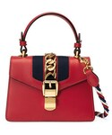 Gucci「Gucci Sylvie Small Top-Handle Satchel Bag(Shoulderbag)」