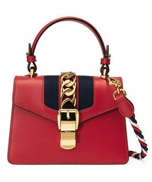Gucci「Gucci Sylvie Small Top-Handle Satchel Bag(Shoulderbag)」