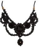Gucci「GUCCI Bead-embellished velvet necklace(Necklace)」