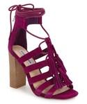 STEVE MADDEN「Women's Steve Madden 'Tasssal' Lace-Up Sandal, Size 8 M - Purple(Sandals)」