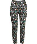 H&M「H&M - Slacks - Black/small floral - Ladies(Pants)」