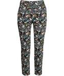 H&M「H&M - Slacks - Black/small floral - Ladies(Pants)」