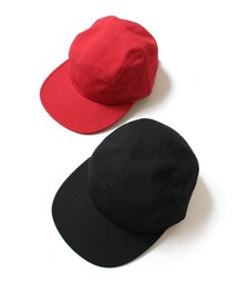 By Parra(バイパラ)の「by Parra 5 panel volley hat Parra signature(キャップ)」