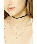 Forever 21「FOREVER 21+ Layered Choker Necklace Set(Necklace)」