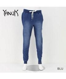 YANUK(ヤヌーク)の「スウェットパンツ(デニムパンツ)」