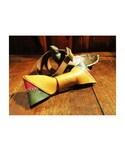 POESIA WEAR | POESIA WEAR - Handcraft lether bowtie/レザーボウタイ(クリップオン)/蝶ネクタイ(蝶ネクタイ)