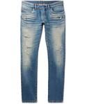 Balmain「Balmain Skinny-Fit Distressed Denim Biker Jeans(Denim pants)」