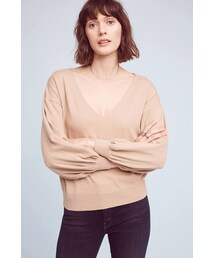 line and dot「Line & Dot Traveler Pullover(Knitwear)」