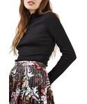 TOPSHOP「Women's Topshop Lettuce Edge Turtleneck(Knitwear)」