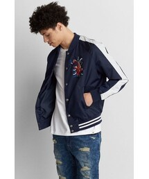 AMERICAN EAGLE OUTFITTERS「American Eagle Outfitters AE Embroidered Souvenir Jacket(Others)」