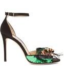 Jimmy Choo「JIMMY CHOO Annie 100mm embellished sandals(Other Shoes)」