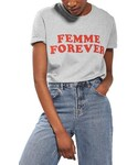 Topshop | Women's Topshop Femme Forever Tee(T Shirts)