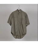 HUMIS(ヒューミス)の「HUMIS : BIG SILHOUETTE TRANSFORMED SHORTSLEEVED SHIRT(シャツ・ブラウス)」