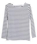 aimoha | ボートネックボーダーTシャツ(Tシャツ・カットソー)