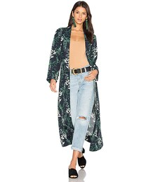 House Of Harlow1960「House of Harlow x REVOLVE Yoselin Maxi Bed Jacket(Outerwear)」