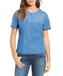 AG Jeans | Women's Ag Tawny Raw Edge Tee(T Shirts)