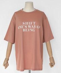 DHOLIC(ディーホリック)の「4COLORSレタリングショートスリーブTシャツ(Tシャツ・カットソー)」