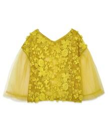 flower(フラワー)の「honey bee top~ハニービートップ(Tシャツ・カットソー)」