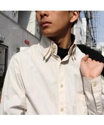 Yohji Yamamoto(ヨウジヤマモト)の「yhoji yamamoto「Overlap collar shirt」(シャツ・ブラウス)」