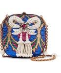 Gucci「Gucci - Broadway Embellished Metallic Brocade Clutch - Gold(Clutch)」