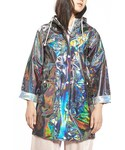 Topshop「Women's Topshop Iridescent Rain Jacket(Other outerwear)」