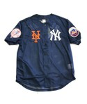 "no brand「Majestic マジェスティック  ""AREA TEAM"" Baseball Shirts Navy(Jersey)」"