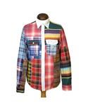 RALPH LAUREN「DENIM & SUPPLY(デニム アンド サプライ) パッチワークシャツ(Shirts)」