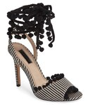 TOPSHOP | Women's Topshop Rom Pom Pom Sandals(Sandals)