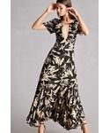 FOREVER 21「FOREVER 21+ Nightwalker Cutout Maxi Dress(One piece dress)」