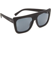 quay「Quay Cafe Racer Flat Top Sunglasses(Sunglasses)」