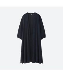 ユニクロ(ユニクロ)の「コットンドビーロングシャツ(7分袖)(シャツ・ブラウス)」